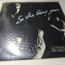 Discos de vinilo: MAXI - LIVING IN A BOX ?– SO THE STORY GOES - LIBX 3 ( VG+ / VG+) UK 1987. Lote 220423382