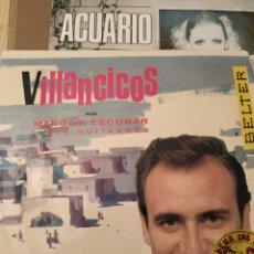 Discos de vinilo: MANOLO ESCOBAR, 1962, VILLANCICOS ,7 PULGADAS. Lote 220431688