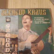 Discos de vinilo: ALFREDO KRAUS, GRANADA, 7 PULGADAS. Lote 220434351