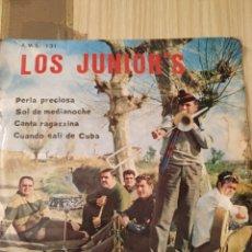 Discos de vinilo: LOS JUNIOR'R 1967, 7 PULGADAS. Lote 220434852