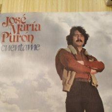 Discos de vinilo: JOSÉ MARÍA PURÓN, CUÉNTAME, 7 PULGADAS. Lote 220435170