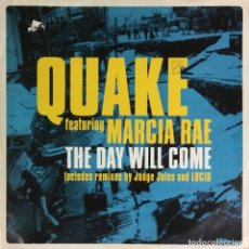 Disques de vinyle: QUAKE - THE DAY WILL COME. Lote 220436001