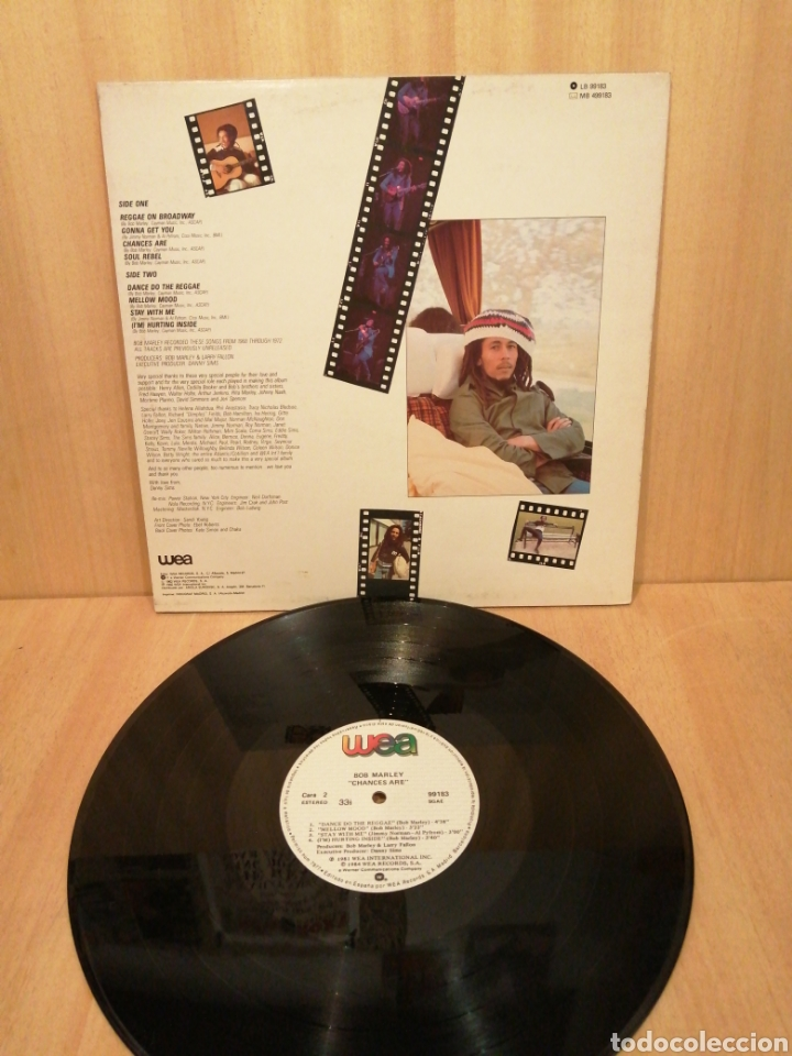 Discos de vinilo: Bob Marley. Chances are. - Foto 2 - 220451320