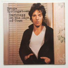 Discos de vinilo: BRUCE SPRINGSTEEN – DARKNESS ON THE EDGE OF TOWN HOLANDA CBS. Lote 220452322