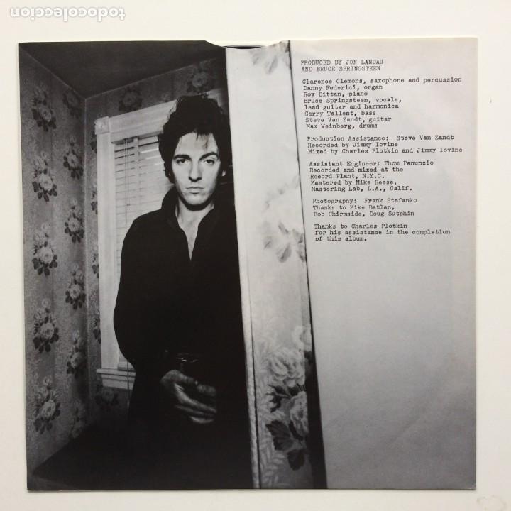 Discos de vinilo: Bruce Springsteen – Darkness On The Edge Of Town Holanda CBS - Foto 3 - 220452322