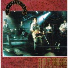 Discos de vinilo: LA COARTADA - SI NO TE ARRIESGAS / EL TIEMPO ESTA - MAXI SINGLE 1990. Lote 220452336