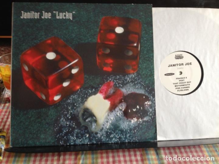 JANITOR JOE - LUCKY (NOISE, ALTERNATIVE ROCK))/ ALBUM VINYL GERMANY 1994. NM-M (Música - Discos - LP Vinilo - Punk - Hard Core)