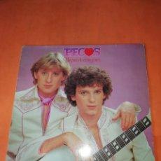 Discos de vinilo: PECOS . UN PAR DE CORAZONES. EPIC 1979. Lote 220455370