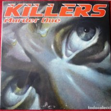 Discos de vinilo: KILLERS - MURDER ONE - LP VINILO. NUEVO. PRECINTADO. ED. LIMITADA. VINILO AZUL. PAUL DI´ANNO. Lote 220455478