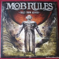 Discos de vinilo: MOB RULES - TALES FROM BEYOND. 2XLP VINILO + 1 CD. NUEVO. PRECINTADO. VINILOS BLANCOS.. Lote 233210140