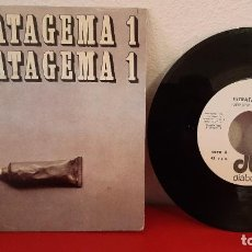 Discos de vinilo: ANTIGUO DISCO DE VINILO SINGLE ESTRATAGEMA 1 I LET ME SEE MY STAR HARRY UP DIABOLO 1970. Lote 220467436