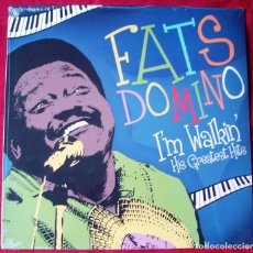 Discos de vinilo: FATS DOMINO - I´M WALKIN', HIS GREATEST HITS. LP VINILO. NUEVO. PRECINTADO.. Lote 220474213