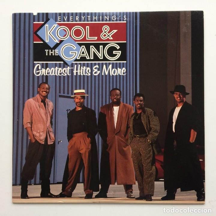 KOOL & THE GANG – EVERYTHING IS KOOL & THE GANG - GREATEST HITS & MORE USA 1988 MERCURY (Música - Discos - LP Vinilo - Funk, Soul y Black Music)