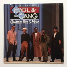 Discos de vinilo: KOOL & THE GANG – EVERYTHING IS KOOL & THE GANG - GREATEST HITS & MORE USA 1988 MERCURY. Lote 220474442