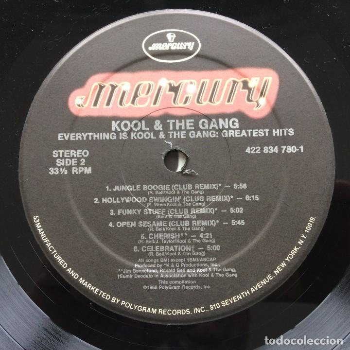 Discos de vinilo: Kool & The Gang – Everything Is Kool & The Gang - Greatest Hits & More USA 1988 Mercury - Foto 7 - 220474442