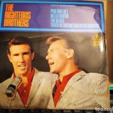Discos de vinilo: THE RIGHTEOUS BROTHERS: POR UNA VEZ, NO LO QUIERO,THE BLUES + 1 HISPAVOX 1965. Lote 220478495