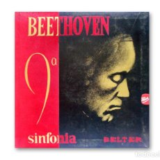 Discos de vinilo: BEETHOVEN - 9ª SINFONÍA - DISCOS BELTER - 1964. Lote 220482472