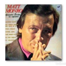 Discos de vinilo: MATT MONRO - GRANDES EXITOS EN ESPAÑOL - EMI-CAPITOL RECORDS - 1968. Lote 220482646