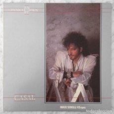 Discos de vinilo: MAXI-SINGLE - TINO CASAL - PANICO EN EL EDEN - HARVEST - 1984 (SYNTH POP TECNOPOP). Lote 220485632