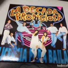 Discos de vinilo: LA DECADA PRODIGIOSA - LICENCIA PARA BAILAR. Lote 220487265