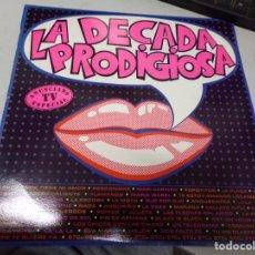 Discos de vinilo: LA DECADA PRODIGIOSA. Lote 220487297