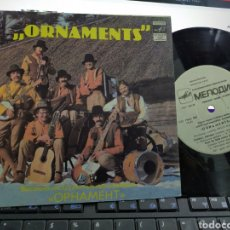 Discos de vinilo: ORNAMENTS EP DIMDARI,DIMDARI RUSIA 1982. Lote 220489386