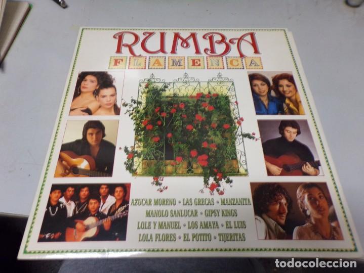 RUMBA FLAMENCA - CBS SONY - DOBLE LP - AZUCAR MORENO , LAS GRECAS , MANZANITA , MANOLO SANLUCAR ,... (Música - Discos - Singles Vinilo - Flamenco, Canción española y Cuplé)