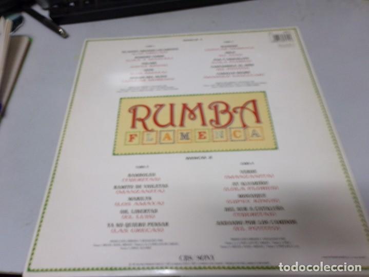 Discos de vinilo: Rumba flamenca - cbs sony - doble LP - azucar moreno , las grecas , manzanita , manolo sanlucar ,... - Foto 3 - 220492700