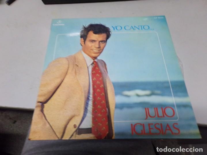 JULIO IGLESIAS - YO CANTO... (Música - Discos - LP Vinilo - Solistas Españoles de los 70 a la actualidad)