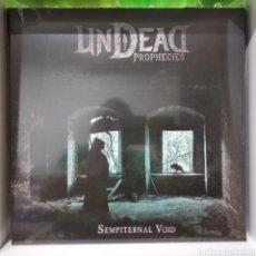 Discos de vinilo: UNDEAD PROPHECIES SEMPITERNAL VOID.DEATH METAL. Lote 220519786