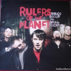 Discos de vinilo: RULERS OF THE PLANET - DISCO BOOGIE FOR DEATH ROCKERS. LP VINILO. NUEVO. PRECINTADO.. Lote 220523995