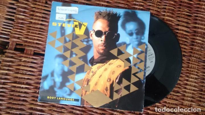 SINGLE (VINILO) DE THE ADVENTURES OF STEVIE V AÑOS 90 (Música - Discos - Singles Vinilo - Techno, Trance y House)