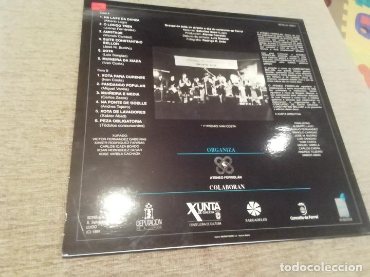 Discos de vinilo: 1° concurso de gaita galega Constantino Bellon-juanjo Fernández,Iván Costa, Budiño.. Lp - Foto 2 - 220548688