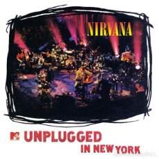 Discos de vinilo: NIRVANA ?– UNPLUGGED IN NEW YORK - LP REEDICION. Lote 220548790