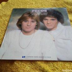 Discos de vinilo: 75-LP DISCO VINILO. PECOS. TRES O CUATRO CANCIONES CON BASTANTES SALTOS.. Lote 220551883