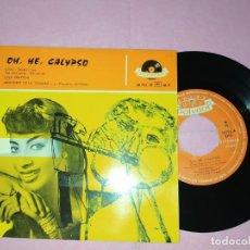 """Discos de vinilo: 7"""" LOLA BRAXTON - ARMANDO DE LA TRINIDAD - OH, HE, CALYPSO - CINDY+3 - SPAIN PRESS EP (VG++/VG++). Lote 220554371"""