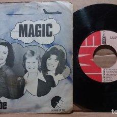 Discos de vinilo: PILOT / MAGIC / JUST LET ME BE / SINGLE 7 INCH. Lote 220566690