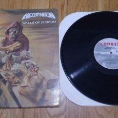 Discos de vinilo: VINILO HELLOWEEN - WALLS OF JERICHO. EDICIÓN USA 1986.. Lote 220572776