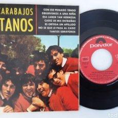 Discos de vinilo: LOS ESCARABAJOS GADITANOS CON ESE PEINADO TENGO EP. Lote 220575248