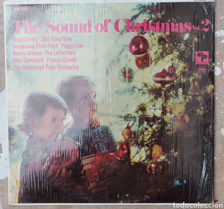 LP THE SOUND OF THE CHRISTMAS. VOL II (Música - Discos - LP Vinilo - Otros Festivales de la Canción)