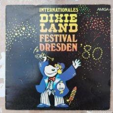 Discos de vinilo: LP FIXIELAND FESTIVAL DRESDEN - INTERNACIONALES. Lote 220583647