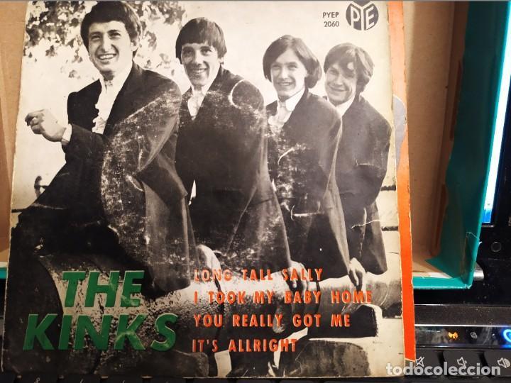 THE KINKS LONG TALL SALLY + 3 RCA ED ESPAÑA 1964 (Música - Discos de Vinilo - EPs - Pop - Rock Internacional de los 50 y 60)