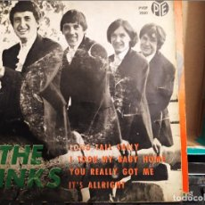 Discos de vinilo: THE KINKS LONG TALL SALLY + 3 RCA ED ESPAÑA 1964. Lote 220595900