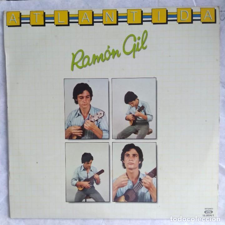 RAMÓN GIL - ATLANTIDA (LP, ALBUM) (MOVIEPLAY) 13 2070/1 (1980,ES) (D:VG+) (Música - Discos - LP Vinilo - Country y Folk)