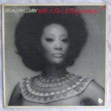 Discos de vinilo: MARLENA SHAW - WHO IS THIS BITCH, ANYWAY? (LP, ALBUM) (BLUE NOTE) 89762I (1976,ES) (D:VG+). Lote 220599696
