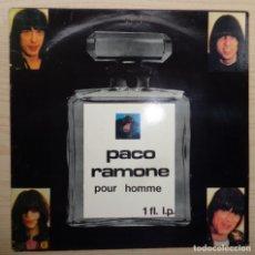 Discos de vinilo: RAMONES 'PACO RAMONE POUR HOMME'. Lote 220601958