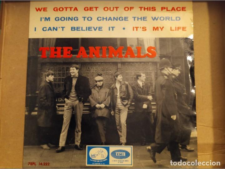 THE ANIMALS: WE GOTTA GET OUT OF THIS PLACE + 3 EMI 1965 ED ESPAÑA (Música - Discos de Vinilo - EPs - Pop - Rock Internacional de los 50 y 60)