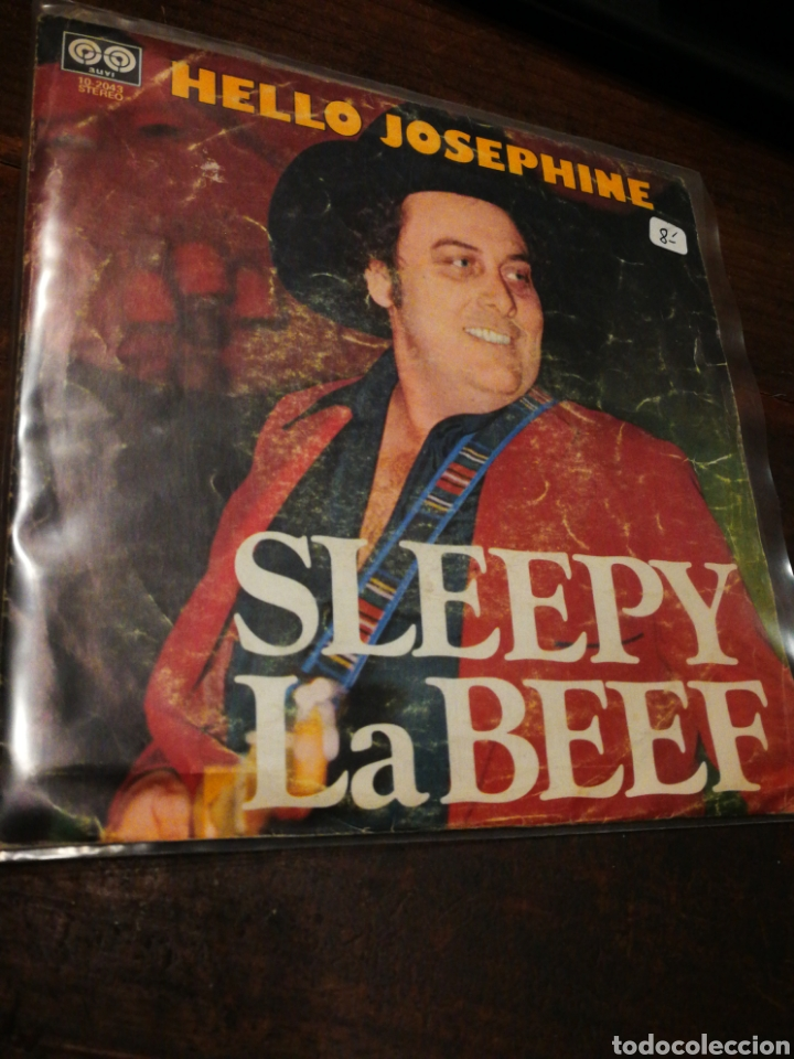 SINGLE SLEEPY LA BEEF- HELLO JOSEPHINE, AUVI (10-2043),1979. (Música - Discos - Singles Vinilo - Country y Folk)