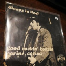 Discos de vinilo: SINGLE SLEEPY LA BEEF- GOOD ROCKIN' BOOGIE, CORINE, CORINA, CHARLY RECORDS (10-34), 1978.. Lote 220605110