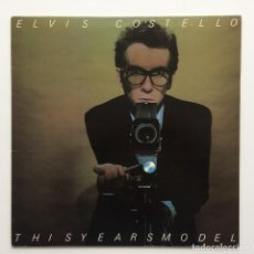 Discos de vinilo: ELVIS COSTELLO – THIS YEAR'S MODEL SCANDINAVIA 1978 SMASH RECORDS. Lote 220606448